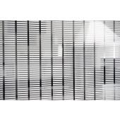 Película Decorativa Barra Branca 4,0x0,5cm Horizontal Detalhe