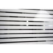 Película Decorativa Listra Branca 3,0x1,0cm Horizontal Detalhe