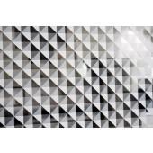 Película Decorativa Mosaico Branco Detalhe